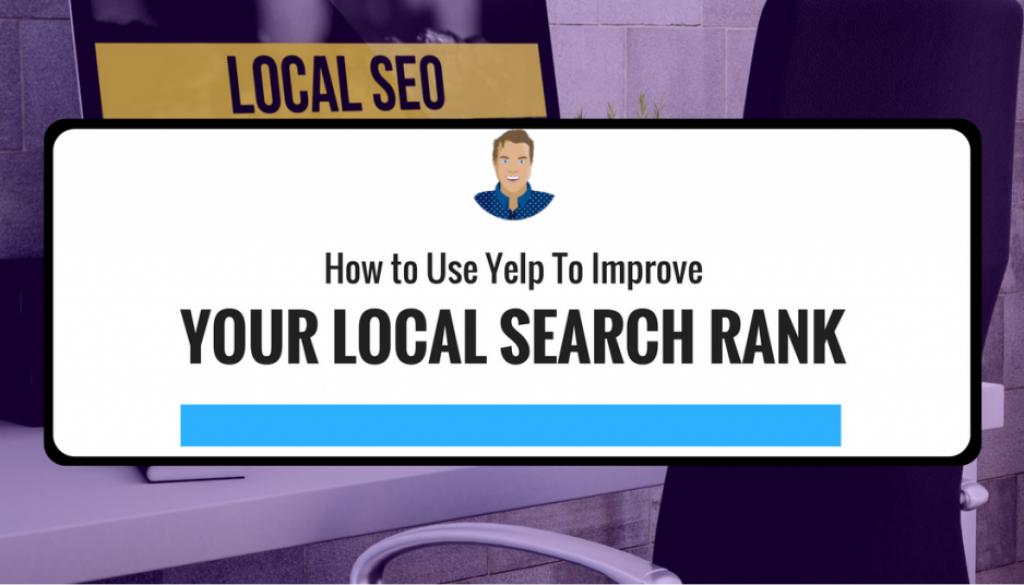 increase local search rank using yelp