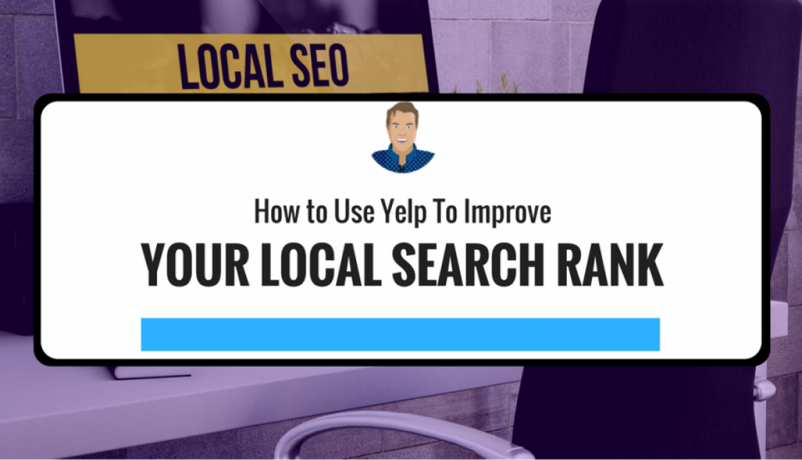increase local search rank using yelp